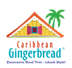 Caribbean Gingerbread - Decorative Roof Trim - Island Style!